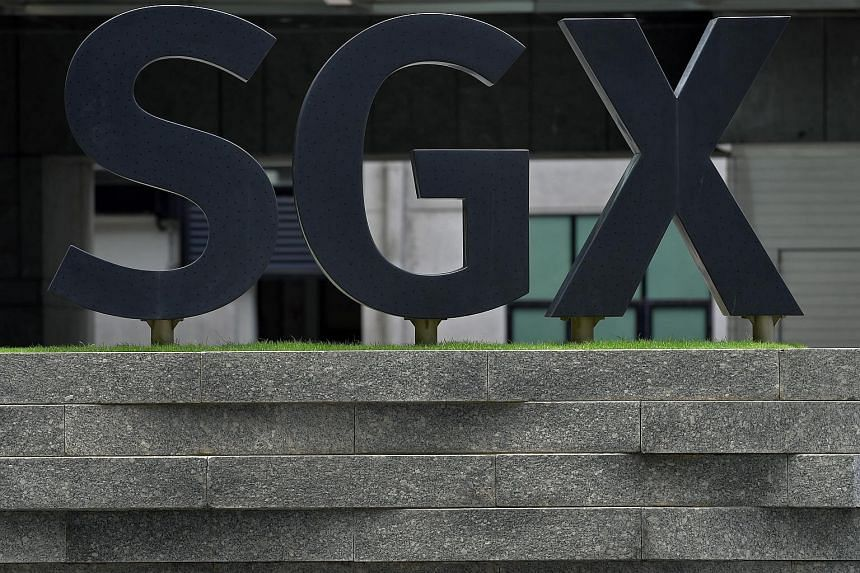 The SGX Centre along Shenton Way.