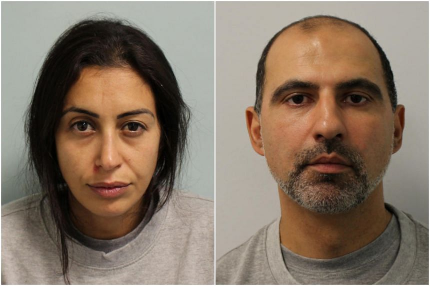 Sabrina Kouider (left) and Ouissem Medouni were described at the Old Bailey court as having spun a web of lies to justify the torture and murder of their young nanny.
