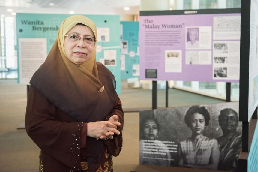 Former Young Women Muslim Association president Fatimah Azimullah, one of the women featured in the Women in Action exhibition.
