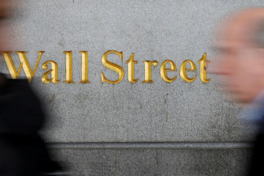 At 10.03am EDT the Dow Jones Industrial Average was down 129.77 points, or 0.52 per cent, at 24,757.04, the S&P 500 was down 13.55 points, or 0.50 per cent, at 2,719.74 and the Nasdaq Composite was down 31.17 points, or 0.42 per cent, at 7,394.79.