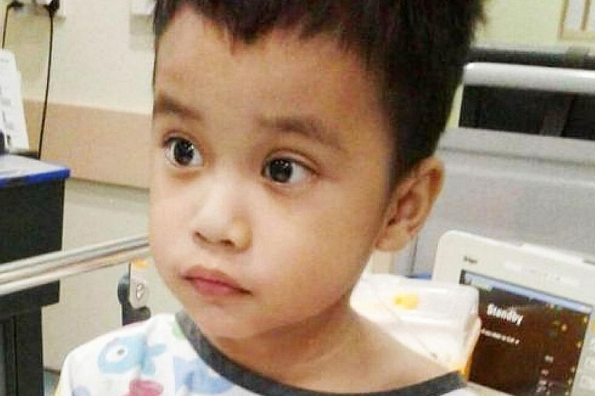Muhammad Royyan suffers from hypoplastic left heart syndrome, a rare heart defect that affects normal blood flow through the heart. Public donations for his treatment jumped after his father, Nur Alam Shah, died last Friday of a heart attack.