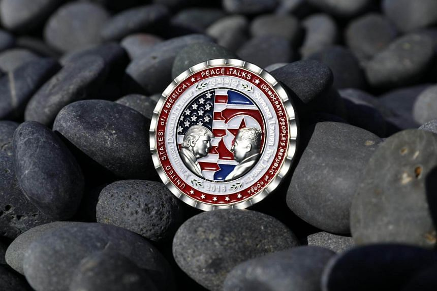 "The coin was minted by the US military, which has long issued ""challenge coins"" commemorating specific events or accomplishments."