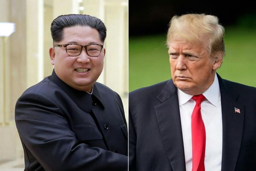 US President Donald Trump (right) announced his abrupt withdrawal from what would have been a historic first meeting between a serving US president and a North Korean leader in Singapore on June 12, 2018, in a letter to North Korean leader Kim Jong U