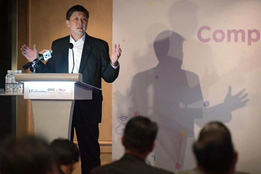 """NTUC secretary-general, Ng Chee Meng, said: """"We need to create a pipeline of talent to take on the new and transformed jobs that arise from (the expanding ICT) sector."""""""