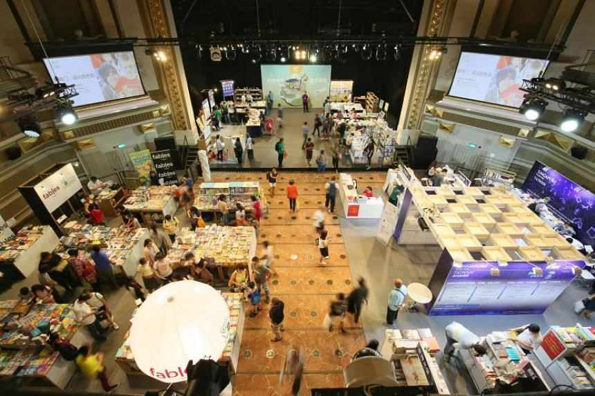 """The Singapore Book Fair 2018 will run for seven days from Friday at Capitol Singapore and Chijmes, with the theme """"Reading City""""."""