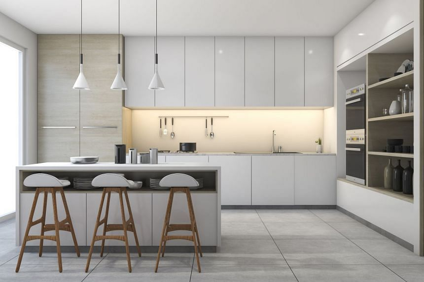 The design of your kitchen should facilitate your food preparations. PHOTO: ISTOCK