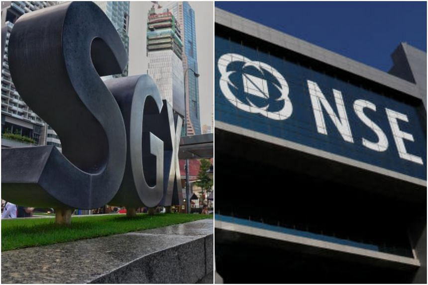 A fight between Singapore Exchange and National Stock Exchange of India over derivatives contracts is threatening to end a popular way of hedging Indian shares.