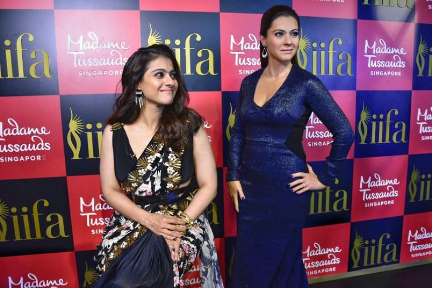 It is Kajol's first wax tribute in her 26-year-long career in the Indian film industry.