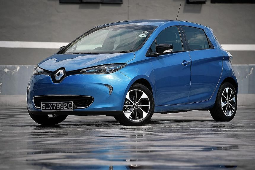 The Renault Zoe offers a silent, emission-free and relatively zippy commute.