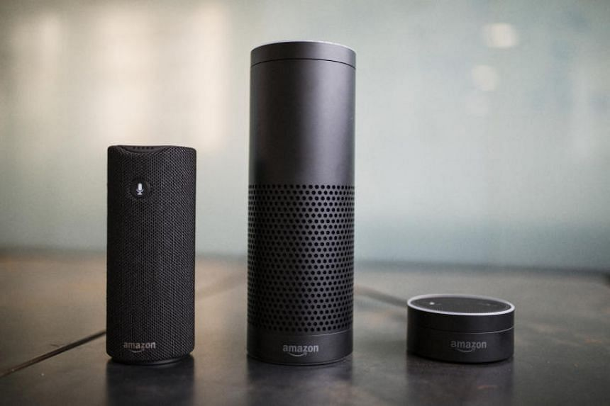 Amazon's main home assistant devices - the Echo, Echo Plus and Echo Dot - are each equipped with seven microphones and noise-canceling technology.