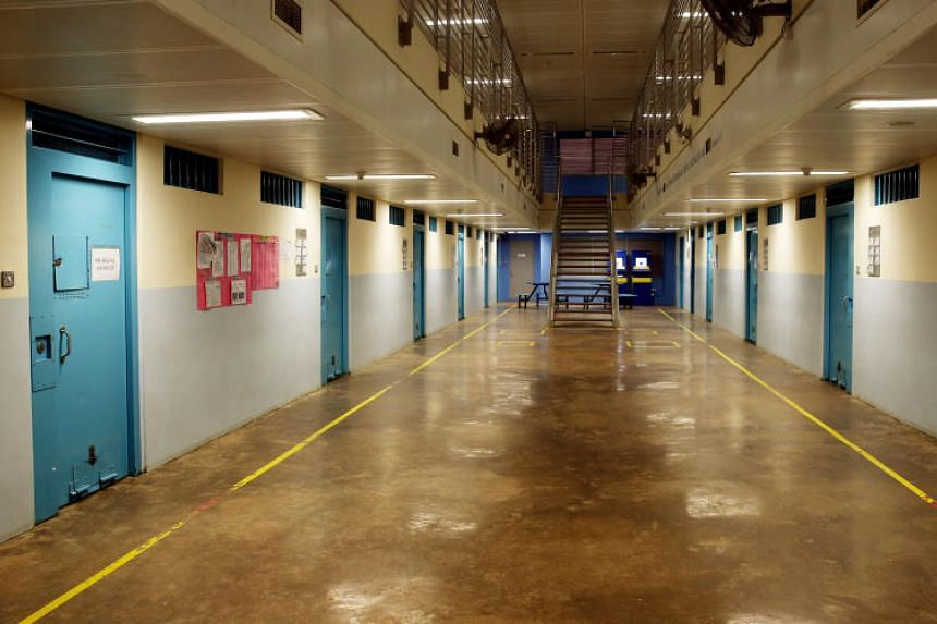 The Singapore Prison Service will set up an indoor vegetable farm at the Changi Prison Complex's B5 institution, where the Drug Rehabilitation Centre (above) is located.