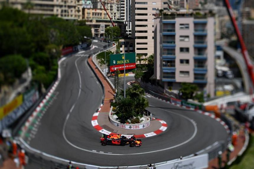 Red Bull's Daniel Ricciardo was in blistering form all week during practice for the Monaco Grand Prix.