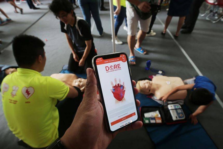 The app, DARE, will teach users how to perform cardiopulmonary resuscitation and use the automated external defibrillator through step-by-step tutorials.