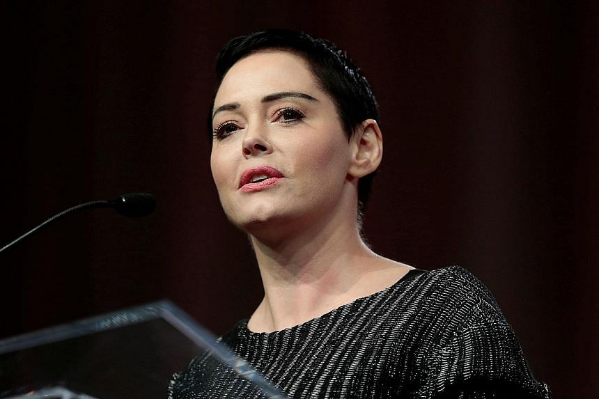 "Annabella Sciorra wrote: ""Anyone knows where I can get front-row seats?!"" Mira Sorvino tweeted a link to an article about Weinstein and added the hashtag #Justice. Asia Argento suggested that the video of Weinstein's arrest would be the only movie he"
