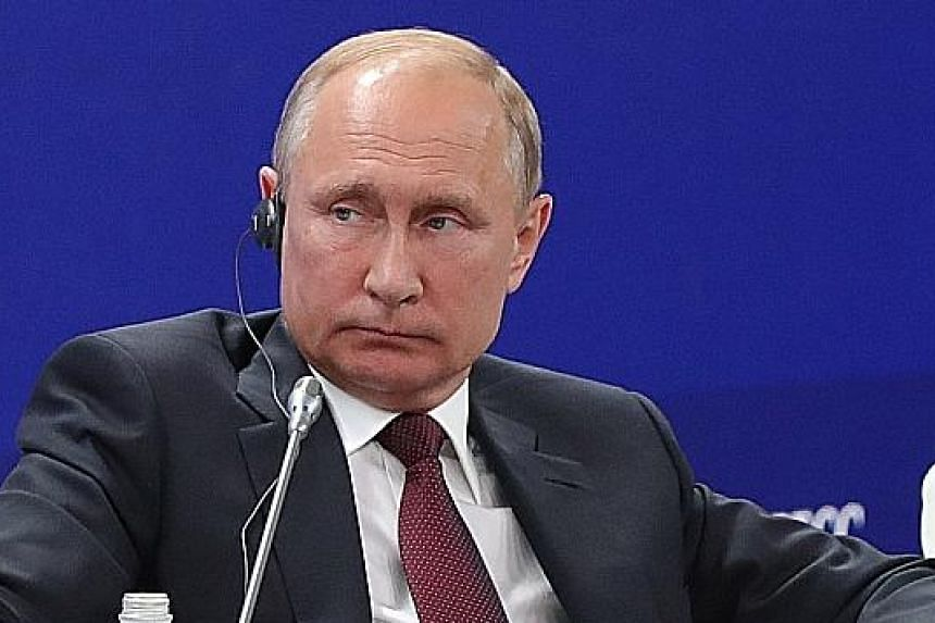 "Mr Vladimir Putin, who is serving a second consecutive term as president, said he plans ""to stick to the rules"". Russia's Constitution does not allow a president to serve a third term in a row."