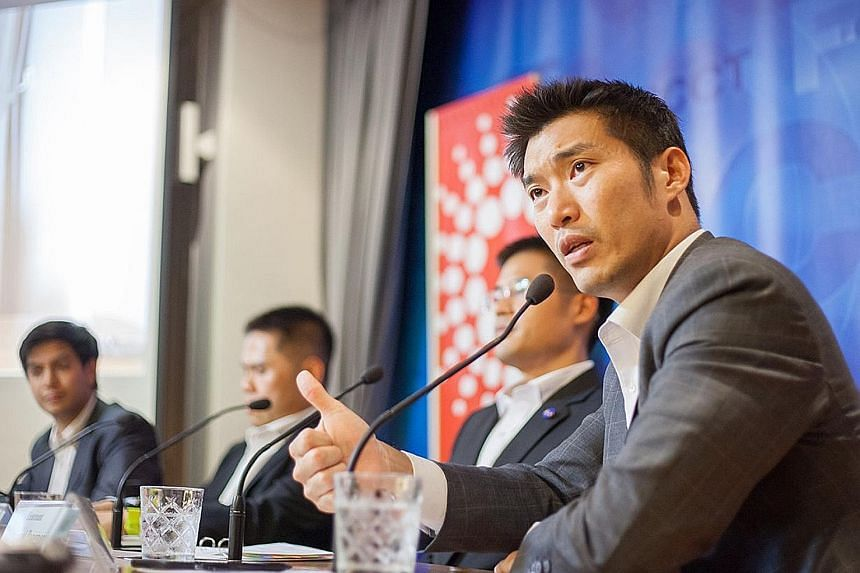 Mr Thanathorn Juangroongruangkit, who was executive vice-president of his family conglomerate Thai Summit Group until recently, has been a rising political star since the start of the year. He has criticised the military's role in Thai politics, espe