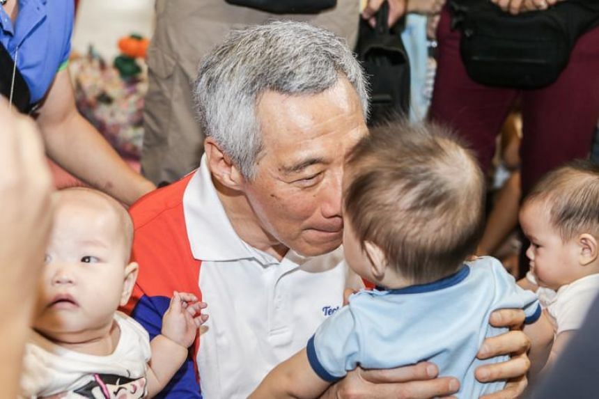 The Embracing PArenthood movement began two years ago when a group of young parents in the Teck Ghee Park View estate started a WhatsApp chat group to exchange tips and information on parenting.