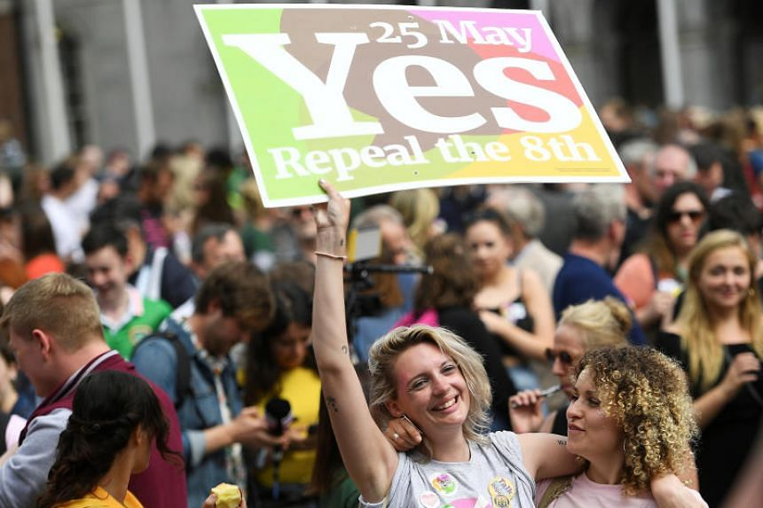Voters in the once deeply Catholic nation backed the change by two-to-one, a far higher margin than any opinion poll in the run up to the vote had predicted, and allows the government to bring in legislation by the end of the year.