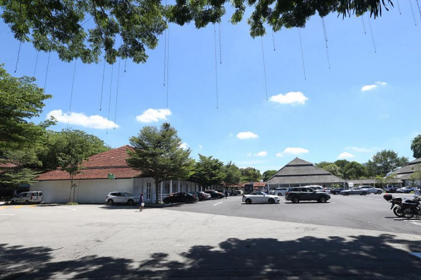 There are plans to redevelop the Dempsey area (pictured) as part of the rejuvenation of Tanglin Village.