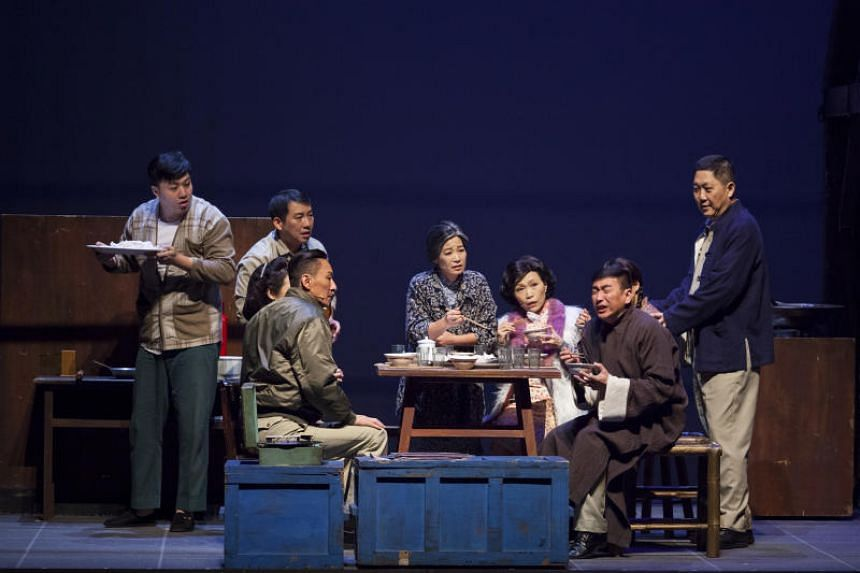 A scene from The Village, which follows three families living in a military dependents' village in Chiayi, Taiwan.