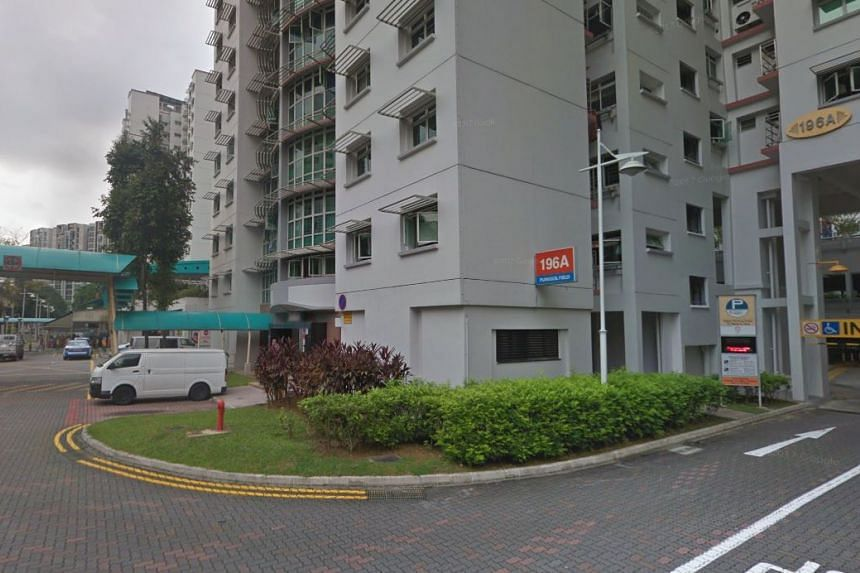 A man was given a parking summons for stopping his vehicle next to Block 196A Punggol Field.