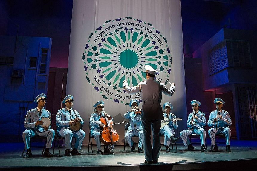 Tony nominees for Best Musical this year comprised only screen adaptations, all of which were Hollywood hits, except The Band's Visit (left), adapted from a 2007 foreign film of the same name.