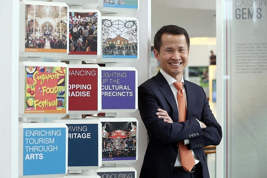 """On where he would be going next, outgoing Singapore Tourism Board chief Lionel Yeo said: """"My first thought is to take a break, maybe be a tourist in my own country, then explore opportunities where I can contribute in the private sector."""""""