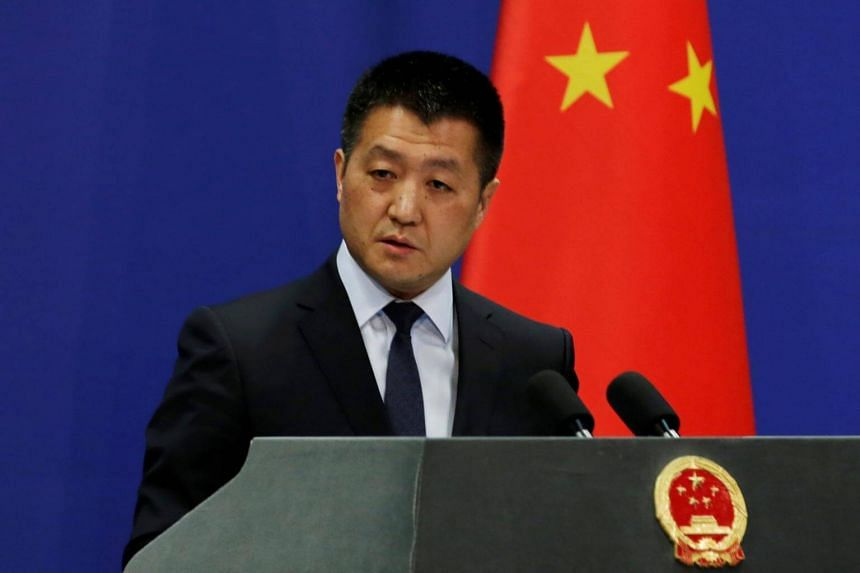 Chinese Foreign Ministry spokesman Lu Kang said in a statement that the US warships trespassed into China's territorial waters off the Xisha Islands without permission of the Chinese government, and the Chinese navy identified the US warships, warned