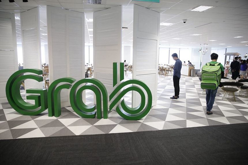 The new Grab office at Marina One West Tower, on May 28, 2018.