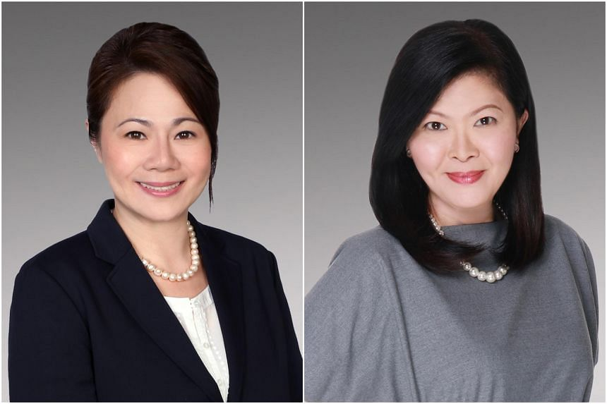 Ms Yvonne Ong (left) will be City Developments Limited's (CDL) chief executive officer for commercial, while CDL's current senior vice-president, head of sales and marketing Lee Mei Ling (right) will be promoted to executive vice-president, head of p