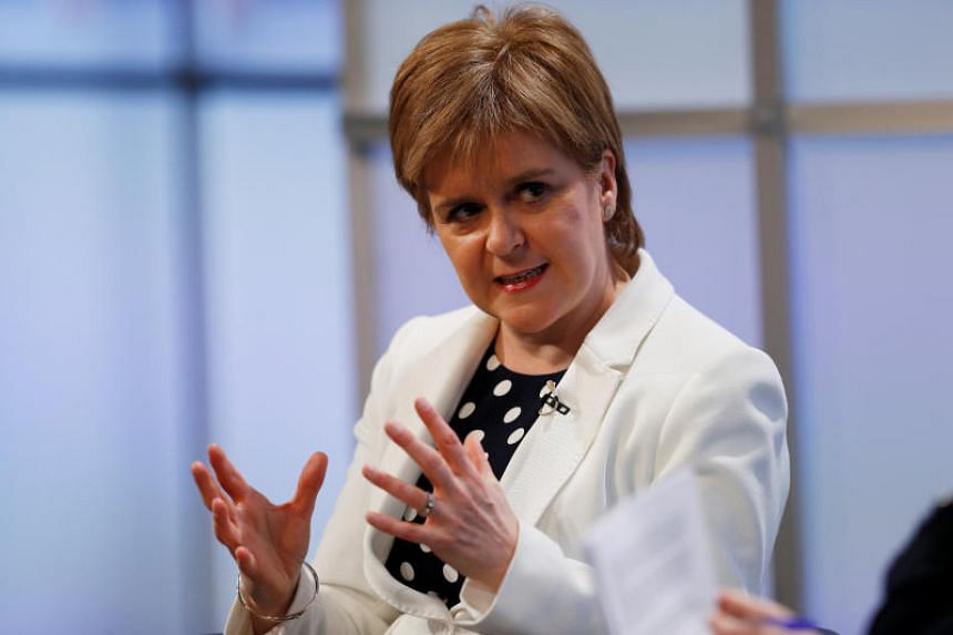 Scottish leader Nicola Sturgeon said she remained hopeful that British Prime Minister Theresa May would change her position and accept a customs union and possibly single market membership.