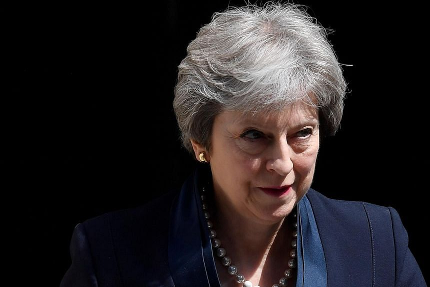 """British Prime Minister Theresa May tweeted on Sunday to """"congratulate the Irish people on their decision"""", but she made no mention of what the result would mean for Northern Ireland."""