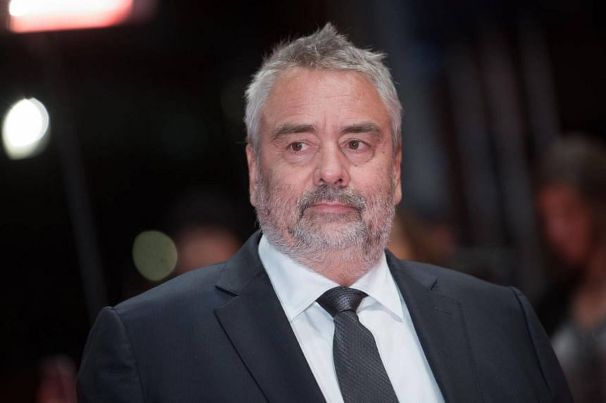 The allegation against French film director Luc Besson (pictured) comes amid accusations of sexual misconduct against men in the entertainment industry.