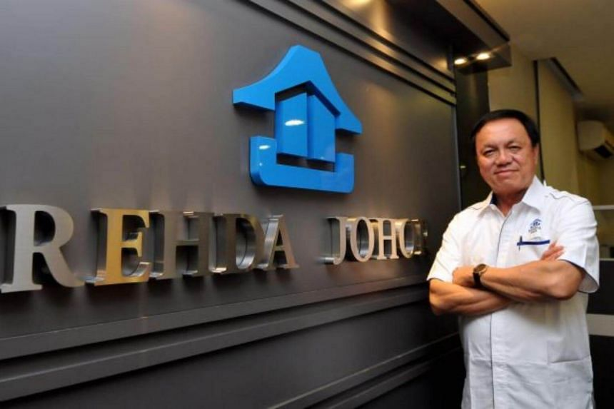 """Johor Real Estate and Housing Developers Association branch chairman Steve Chong Yoon On (above) said the decision to cancel the High Speed Rail was a definite """"setback"""" for property developers."""