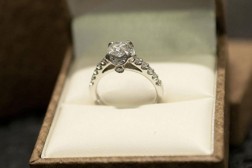File photo showing a proposal ring. When it comes to serious lifelong relationships, millennials in US proceed with caution, new research suggests.