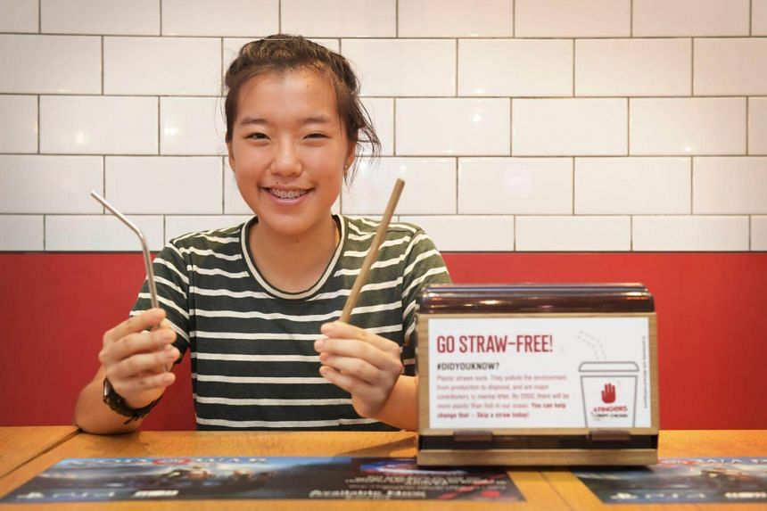 17-year-old environmental activist Ang Zyn Yee is on a mission to minimise the use of plastic straws.