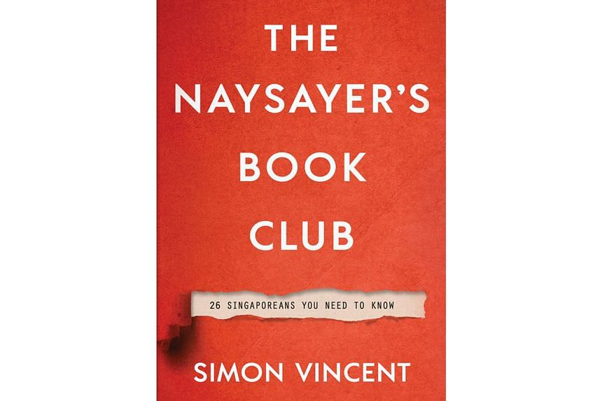 THE NAYSAYER'S BOOK CLUB By Simon Vincent Epigram Books
