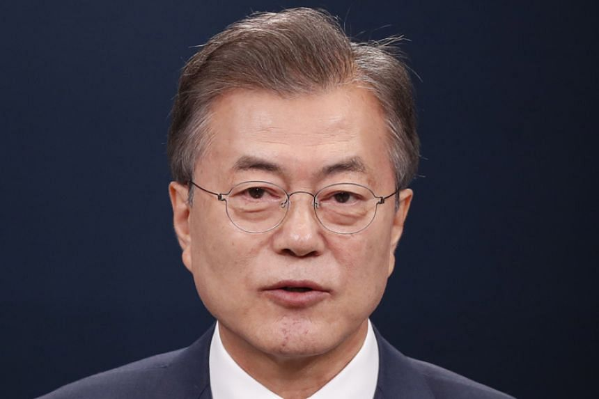 South Korea's President Moon Jae In had the rug pulled from under him by US President Donald Trump after they met.