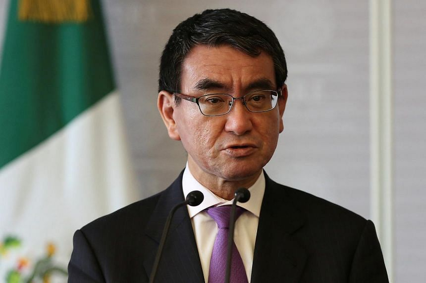 Japanese Foreign Minister Taro Kono reportedly plans to visit Singapore on June 9, a day after visiting Malaysia.