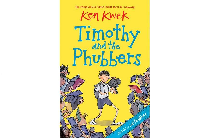 TIMOTHY AND THE PHUBBERS By Ken Kwek, illustrated by Lolita Chiong Epigram Books