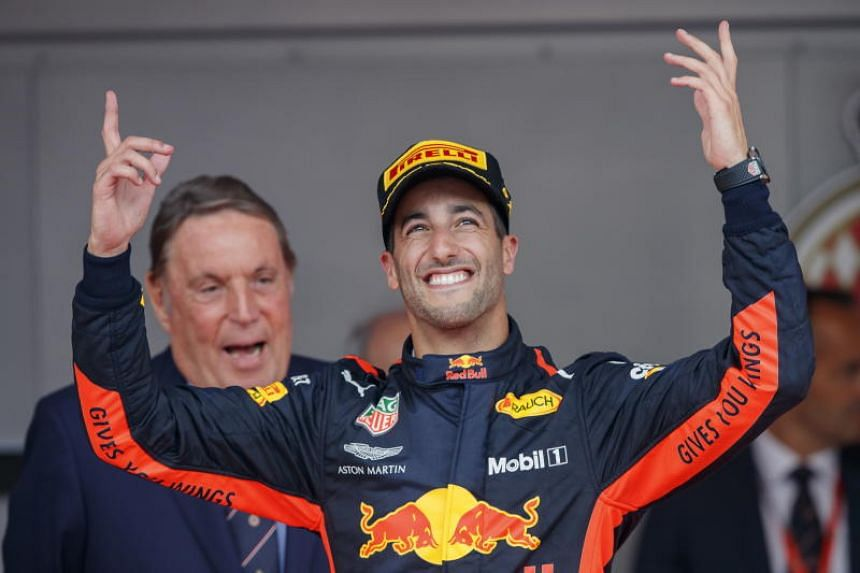 Australian Daniel Ricciardo is out of contract at the end of the season and is waiting to see what engine Red Bull will go for.