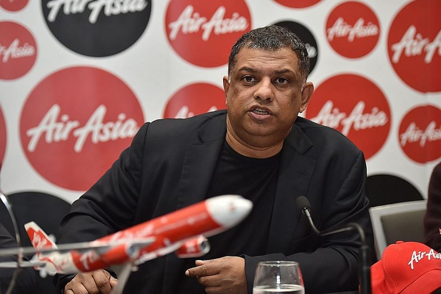 Mr Tony Fernandes is said to have lobbied Indian officials for favourable treatment regarding licences for his low-cost carrier.