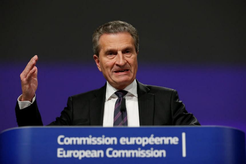 Germany's European commissioner Guenther Oettinger apologised for his comments, saying he did not mean to be disrespectful.