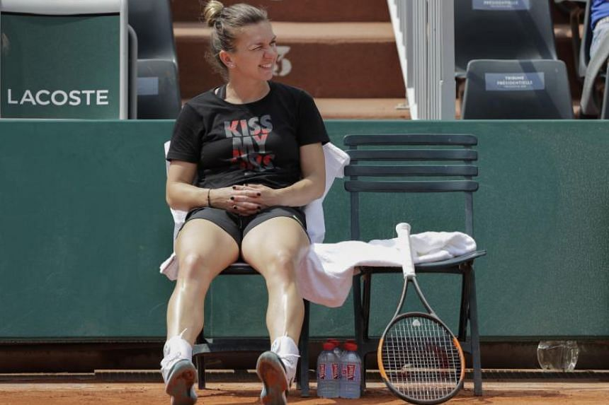 Women's top seed Simona Halep will play her first match on day four of the tournament and would likely face playing two days in succession to catch up.