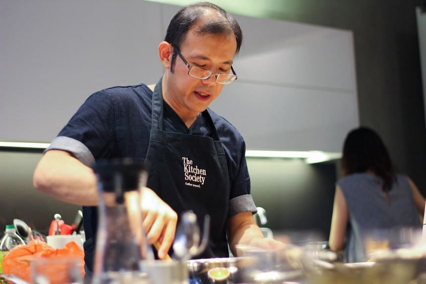 Food writer/consultant Christopher Tan will be teaching three heritage recipes for his July 7 class.
