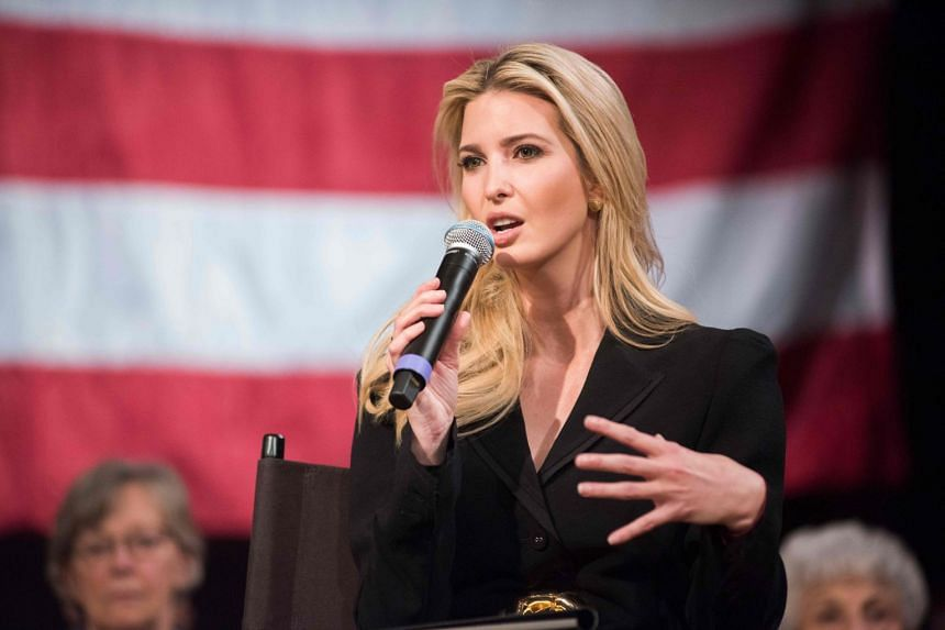 Ivanka Trump, a top-ranking White House official, rarely takes questions from the news media in uncontrolled settings.