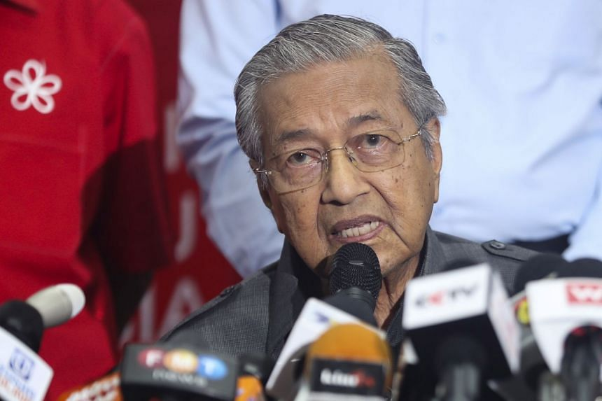 """""""We have to come to a stage where we cannot keep searching for something we cannot find,"""" said Malaysian Prime Minister Mahathir Mohamad."""