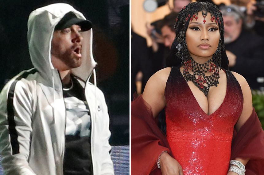 Talk is swirling that Eminem and Nicki Minaj are in a relationship.