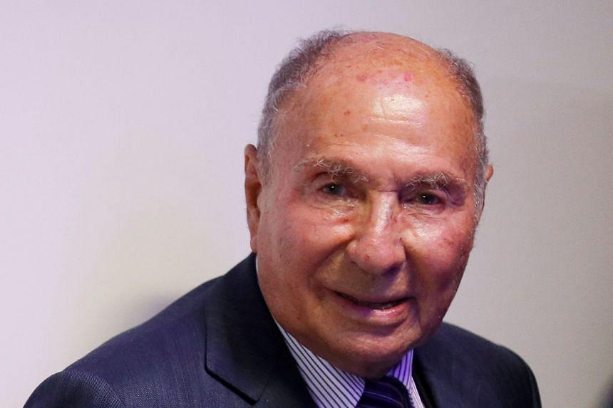 Mr Serge Dassault's fortune is worth US$27.3 billion, making him the world's 28th wealthiest man.
