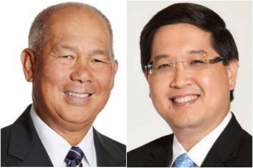 Mr Bob Tan Beng Hai (left) and Mr Lam Yi Young will join the board on June 1.